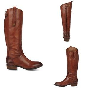 Sam Edelman brown leather penny boot size 10M